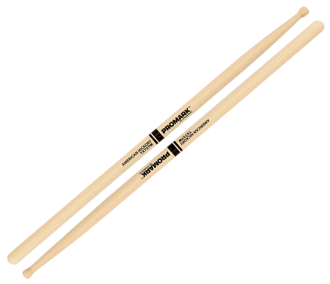 Promark Hickory 737 Wood Tip Drumsticks