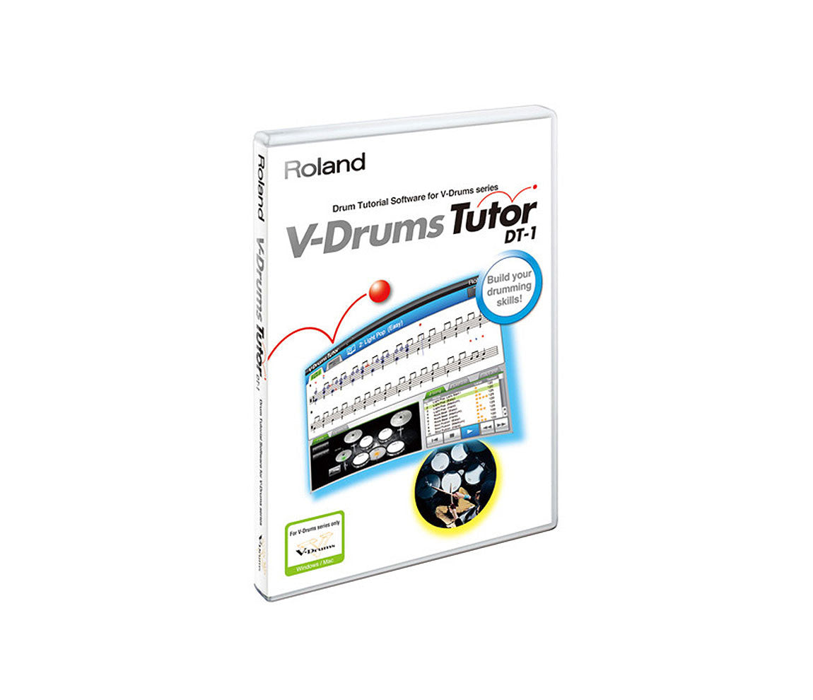 Roland DT-1 V-Drum Tutor Software