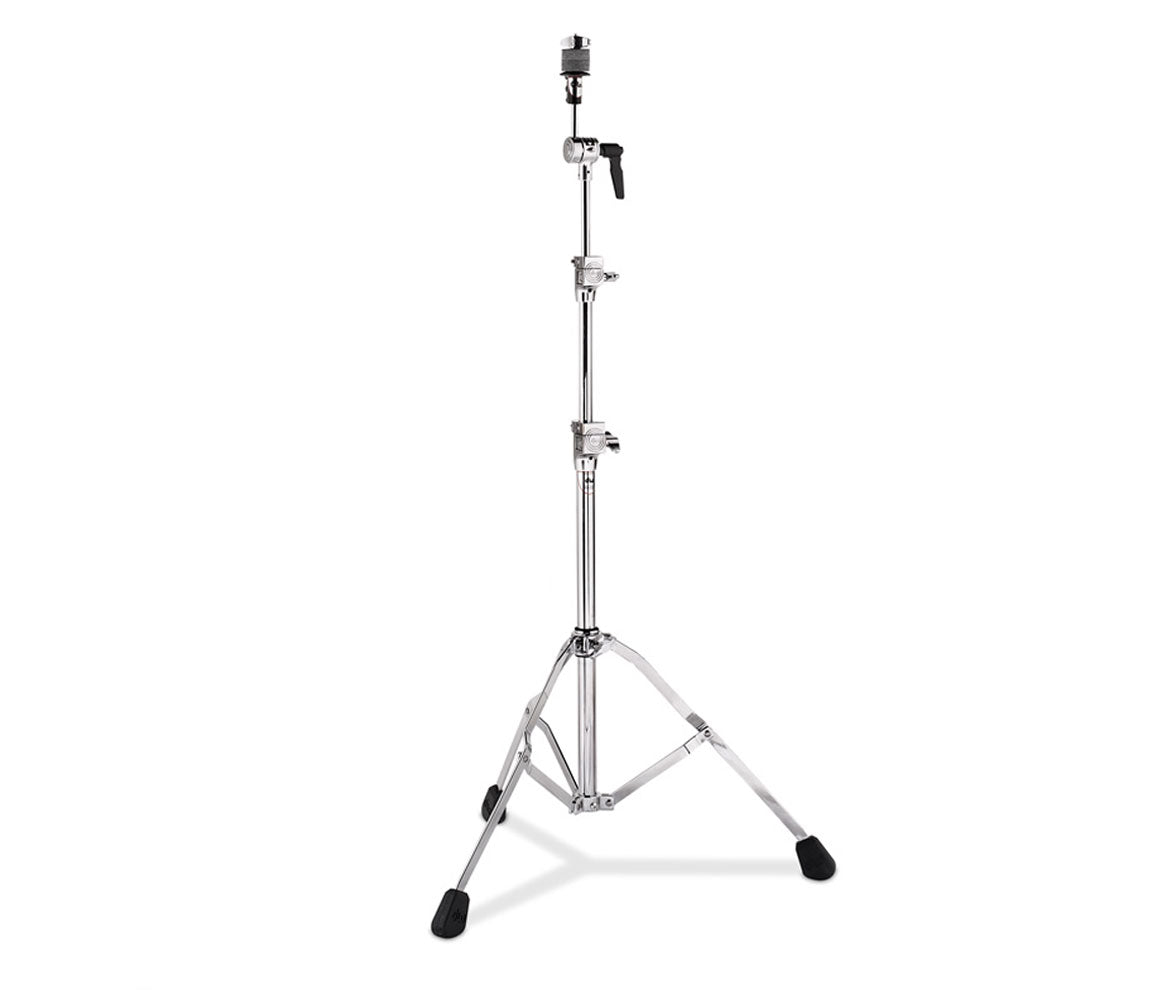 DW 7710 Single Braced Straight Cymbal Stand (802591), DW Drum Workshop, Cymbal Stands, Cymbal Straight Stands, Chrome, 7710 Series