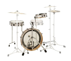 DW Performance LowPro 4-Piece in White Marine, DW Drum Workshop, Acoustic Drum Kits, 4-Piece, White Marine