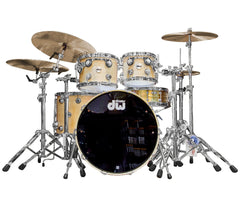 Drum Workshop Collectors Series 4-Piece Shell Pack in Natural Satin Oil