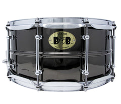 Pork Pie 14 x 6.5 Big Black Brass Snare drum
