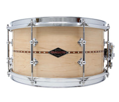 Craviotto Custom Shop Maple with Walnut Inlay 14