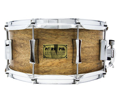 Pork Pie 14 x 6.5 Oak Snare Drum with African Marble