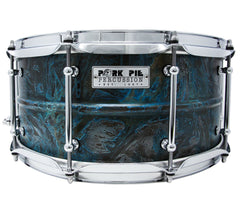 Pork Pie 14 x 6.5 Brass Patina Snare Drum