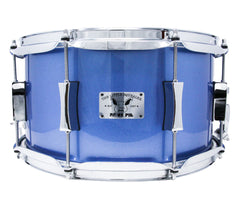 Pork Pie 13 x 7 Squealer Birch Maple in Snare Drum in Porcaro Blue Lac