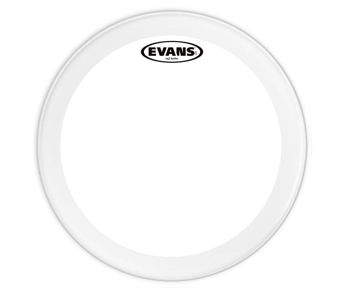 BD24GB2 Evans EQ2 Bass Drum Head