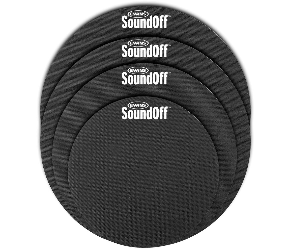 evans sound off drum silencer pads standard pack drum shop. Black Bedroom Furniture Sets. Home Design Ideas