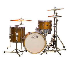 George Way Tradition Tuxedo Mahogany 3-Piece Drum Kit