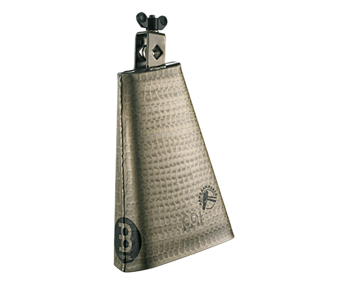 Meinl Hammered 8 inch Big Mouth Cowbell in Hand Brushed Gold