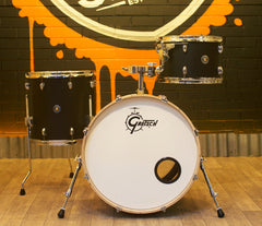 Pre-Loved Gretsch Catalina Club 3-Piece Shell Pack in Black Satin