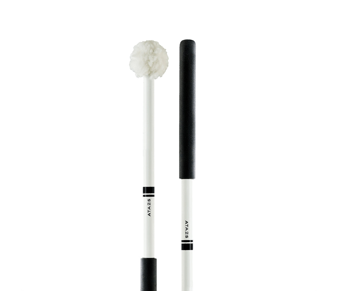 Promark Aluminium Shaft Puffy Head Tenor Mallets