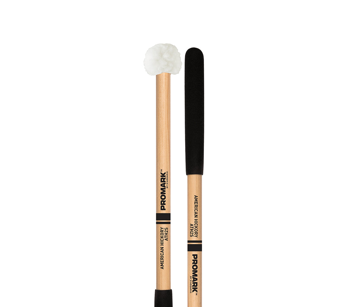 Promark Hickory Shaft Puffy Head Tenor Mallets, Promark, Drumsticks & Mallets, Mallets, Hickory, 18