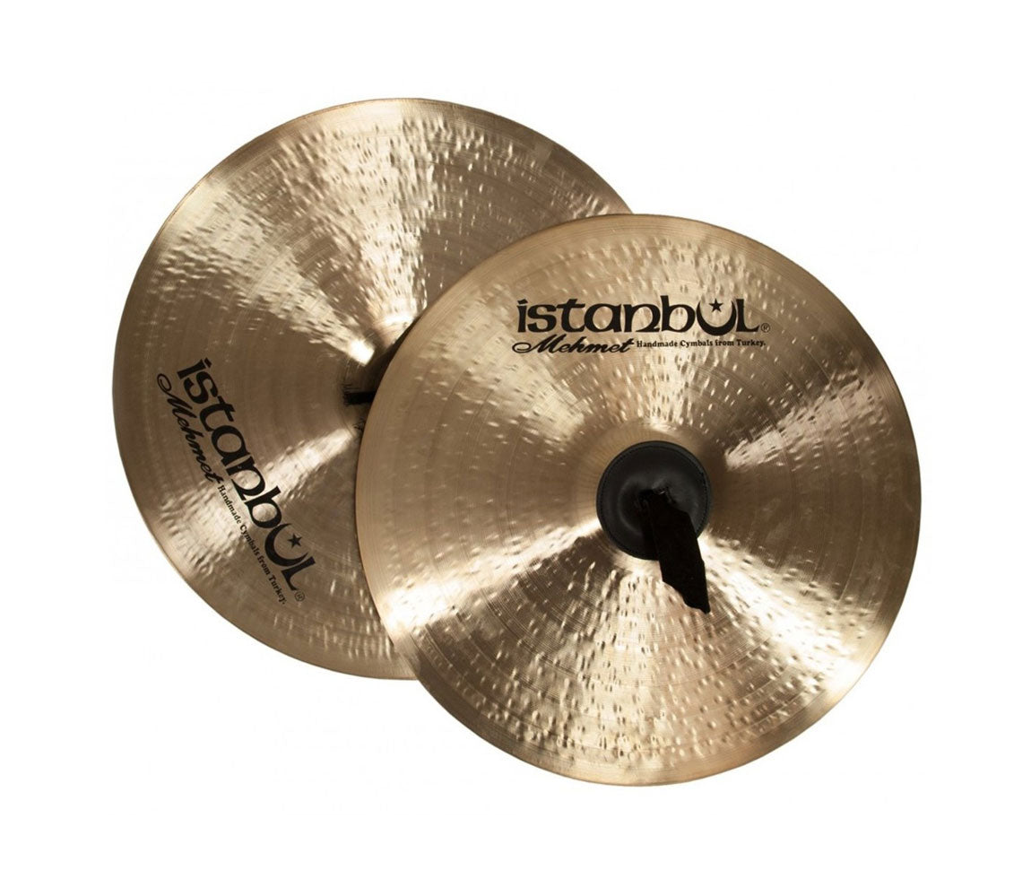 """Istanbul Mehmet 13"""" Marching Band Hand Cymbals, Istanbul Mehmet, Cymbals, Cymbal Room, Percussion Instruments, Hand Percussion, Hand Cymbals, Symphonic/Gong Series, 13"""""""