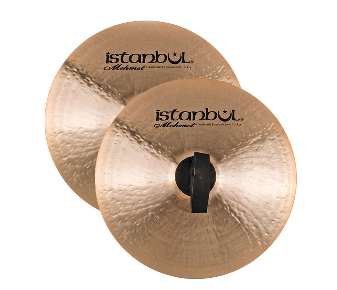 """Istanbul Mehmet 14"""" Orchestra Band Cymbals, Istanbul Mehmet, Cymbals, Cymbal Room, Percussion Instruments, Hand Percussion, Hand Cymbals, Orchestra Band Series, 14"""""""