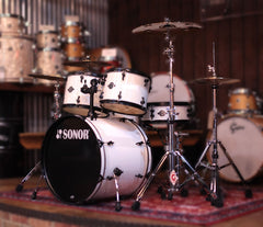 Sonor Smart Force Stage 1 5-Piece in Snow White (Pre-Loved)