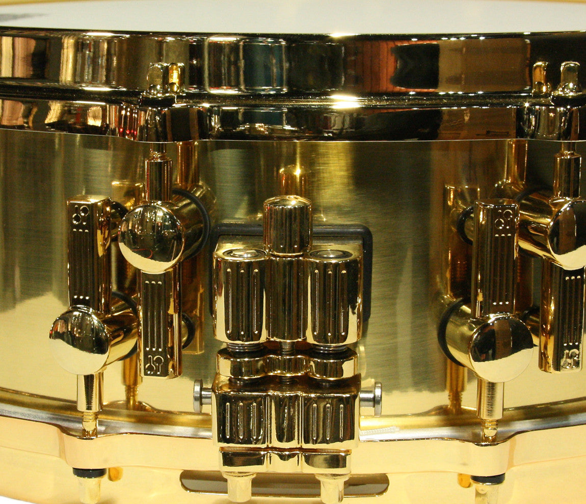 Sonor Artist Brass Snare Drum