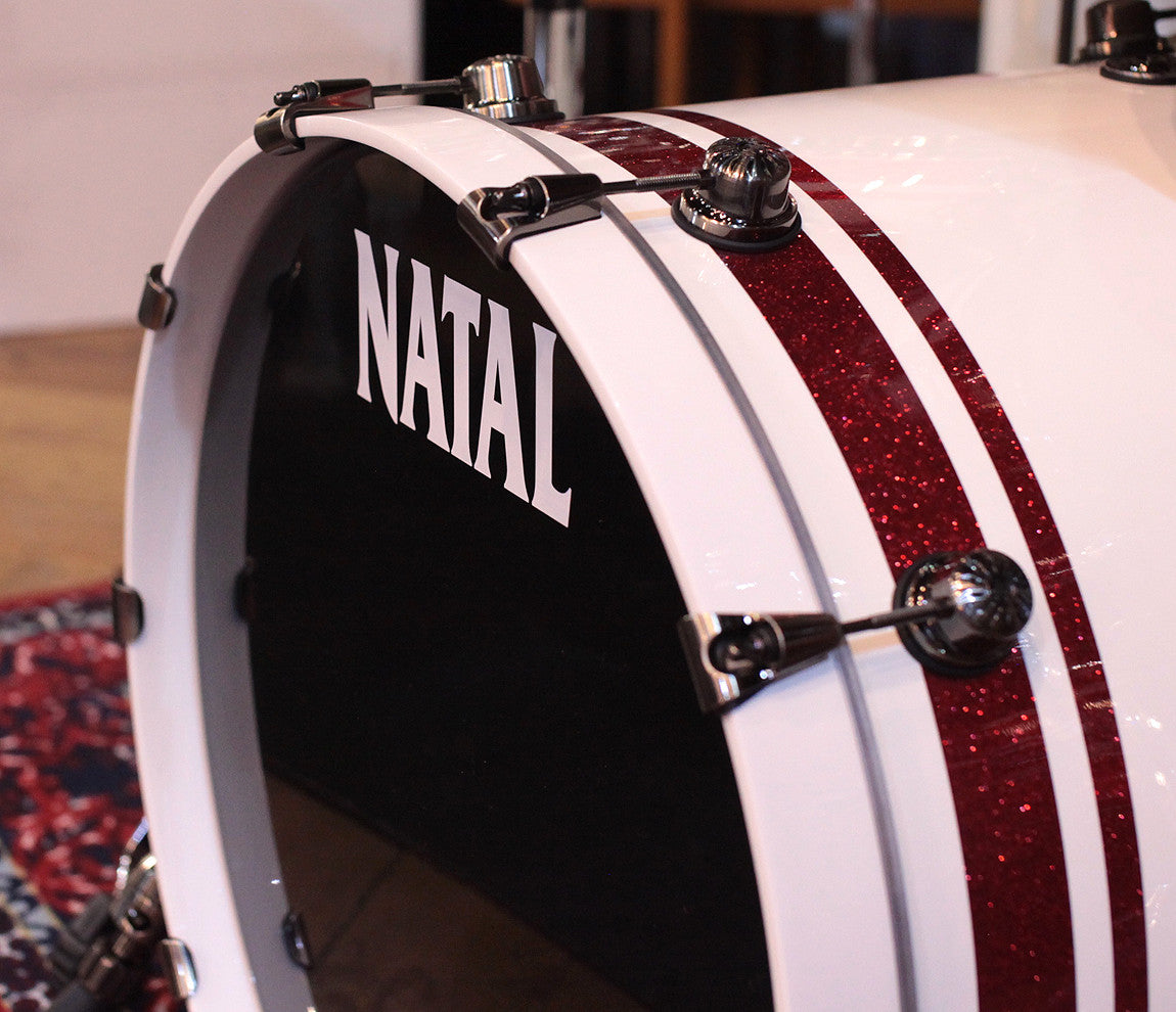 Natal bass drum head