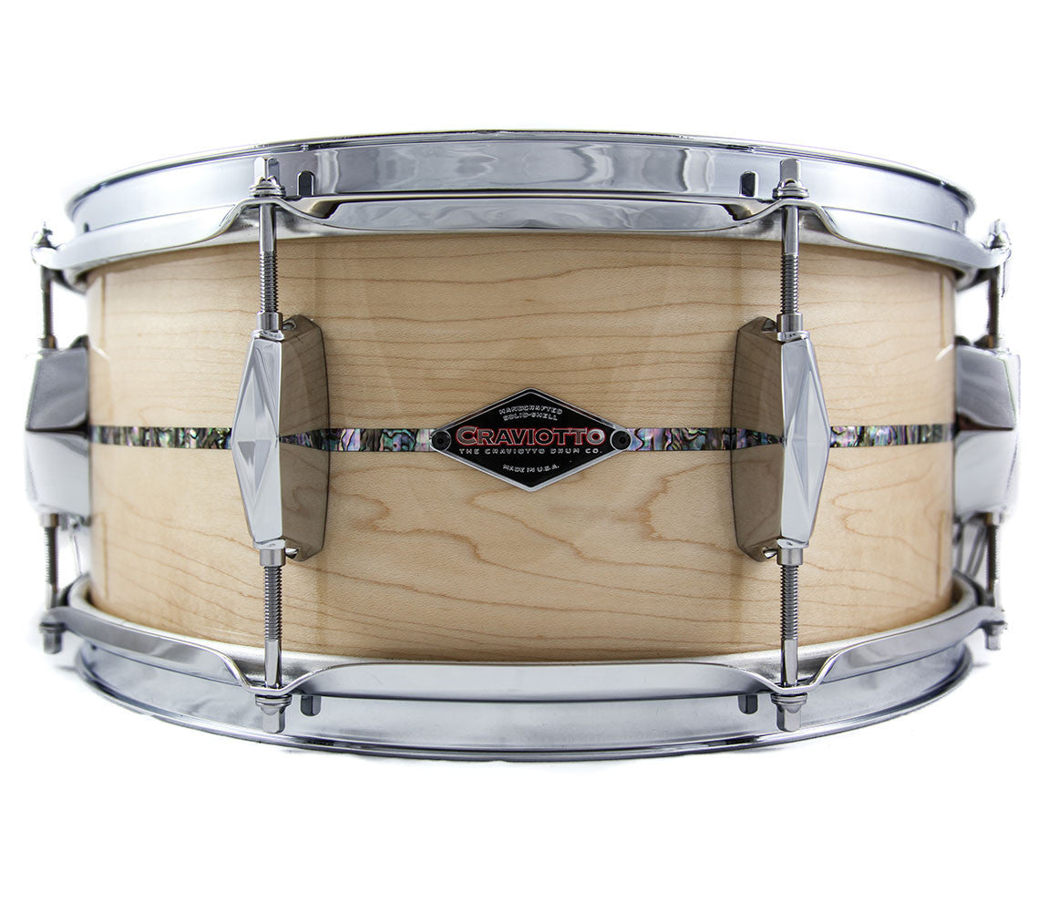Craviotto Limited Edition Johnny C Tribute Snare Drum #18