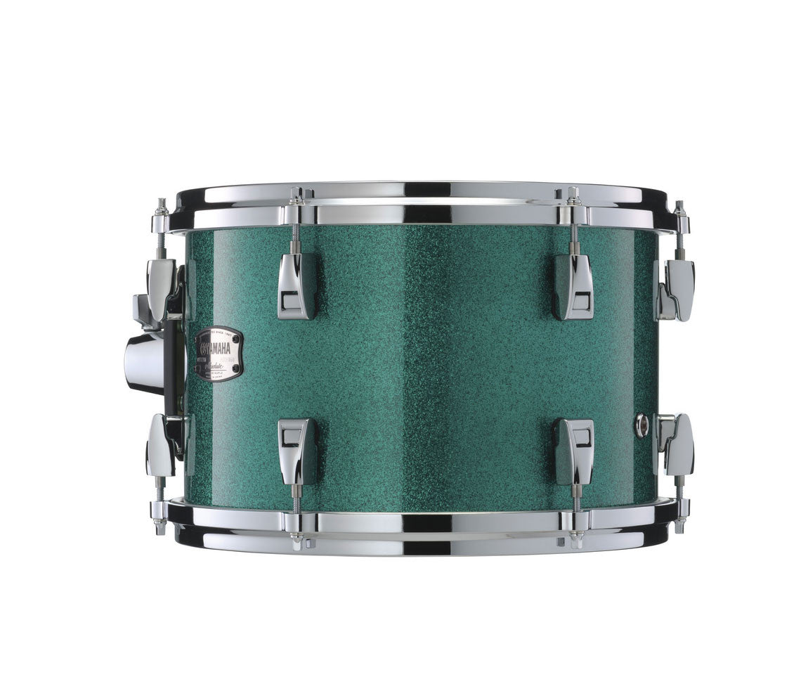 Yamaha Absolute Hybrid Maple Drum Kit in Jade Green Sparkle