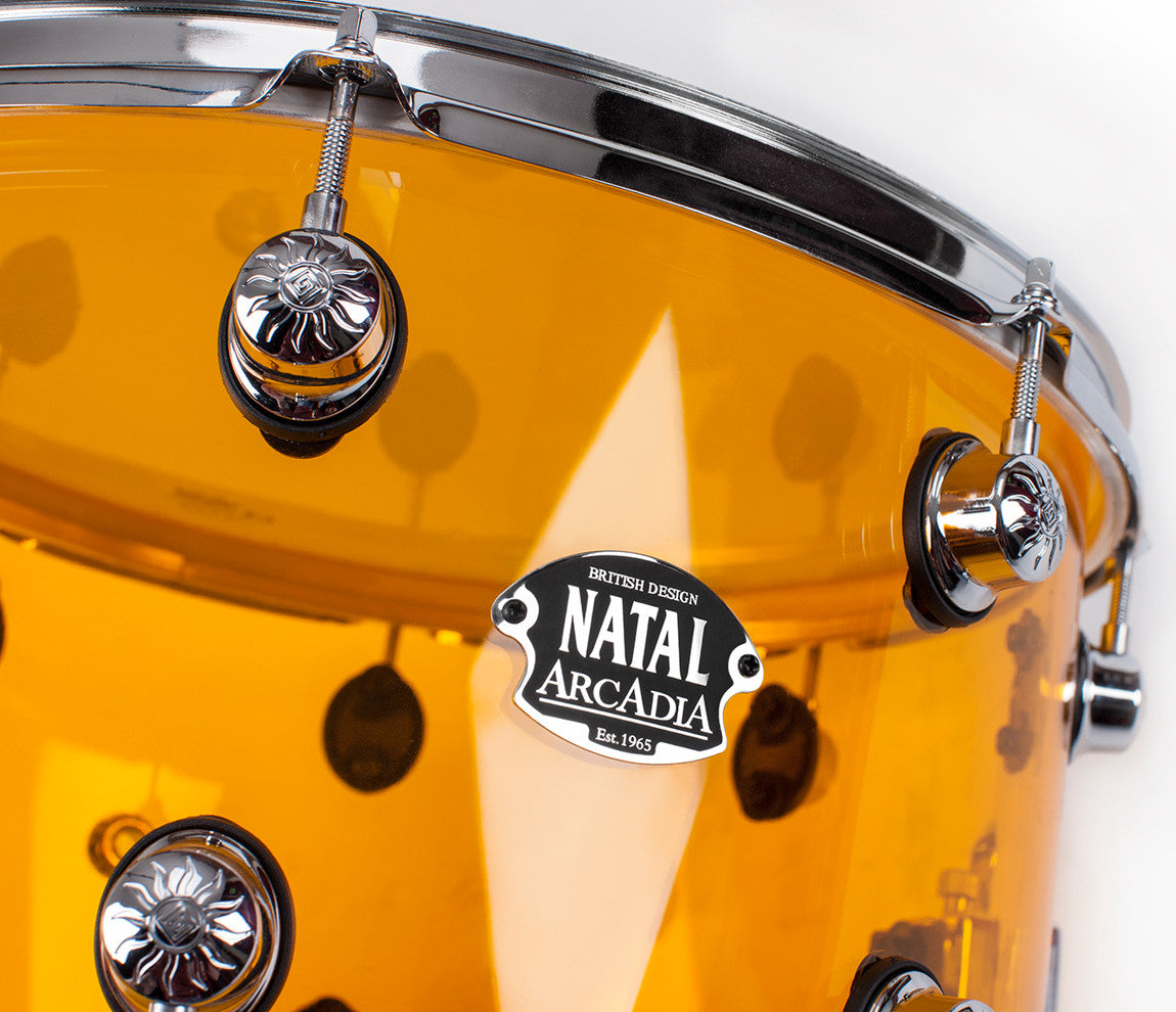 KAC-AA2-ON1 Natal Orange Acrylic Drum Kit