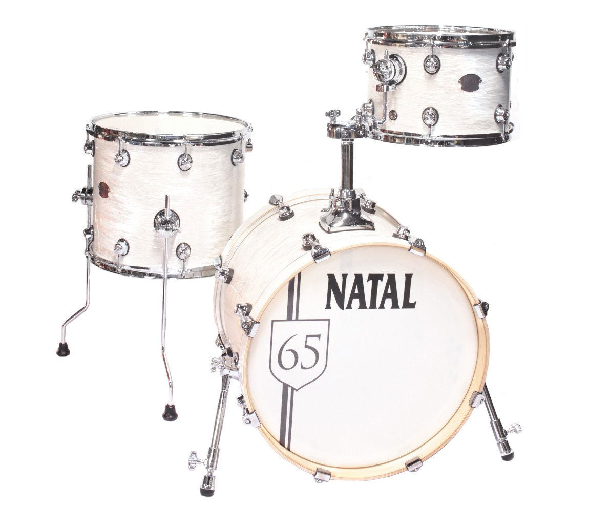 Natal Arcadia The '65 Jazz Shell Pack in White Oyster