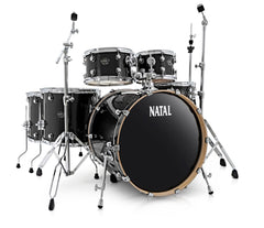 Natal Arcadia UFX Plus 6-Piece Birch Drum Kit in Wrap Finishes (Hardware & Paiste Cymbals Included)