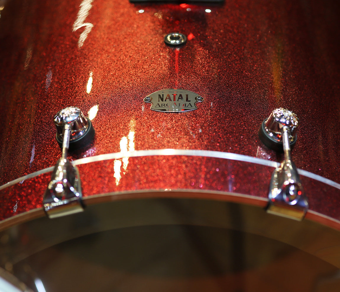 Natal Arcadia UFX Plus 6-Piece Shell Pack in Red Sparkle
