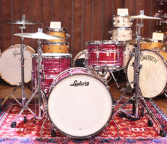 Ludwig Club Date 3-Piece Shell Pack in Ruby Strata