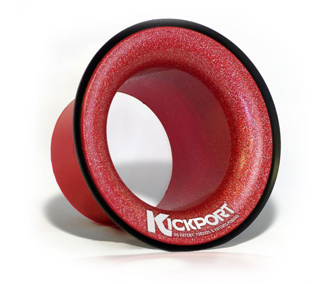 KickPort 2 Bass Drum Sound Port in Candy Red