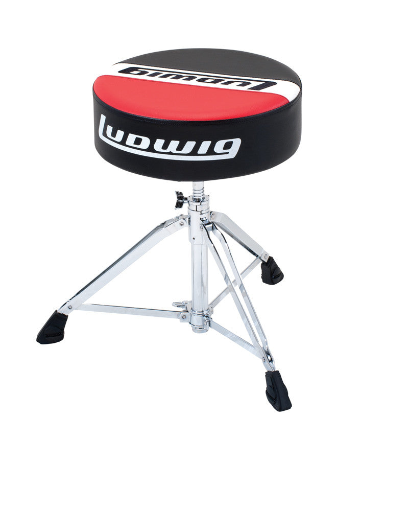 Ludwig Atlas Pro Round Top Drum Throne LAP51TH