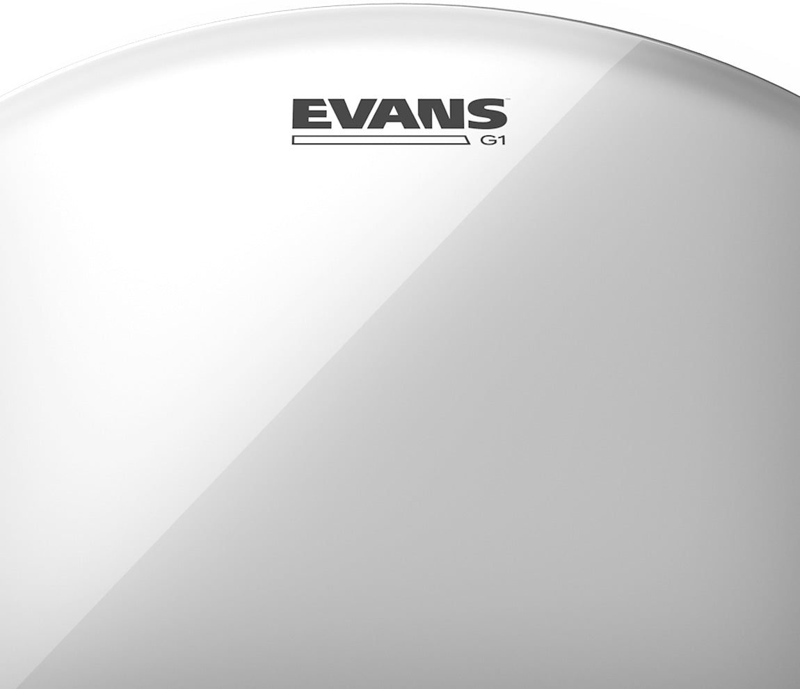 Evans Fusion G1 Clear Drum Head Tom Pack