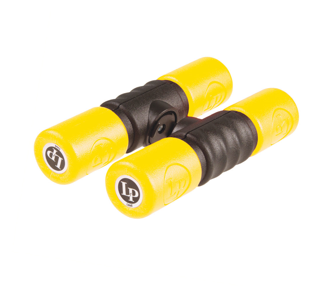 Soft Twist Shakers in Yellow Latin Percussion