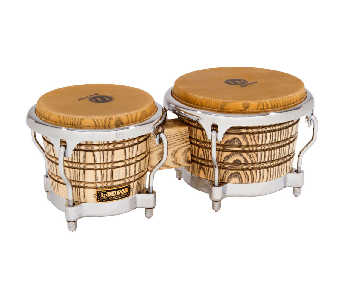 LP Giovanni Ash Bongos with Chrome Hardware (LP793X-C)