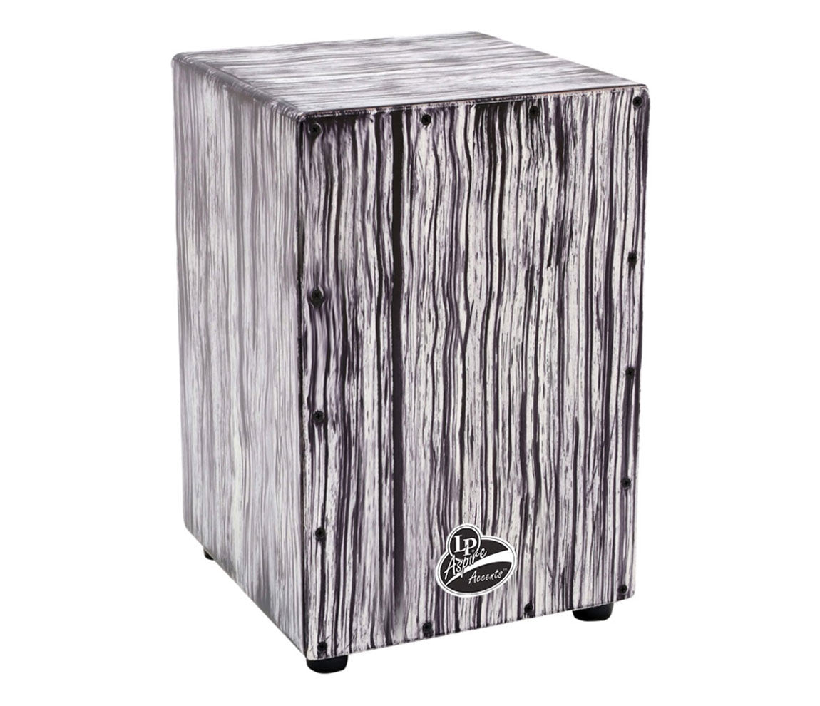 LP Aspire Accents LPA1332-WS White Streak Cajon