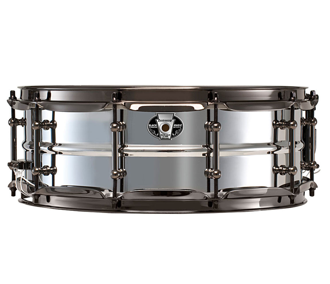 Ludwig Black Magic Stainless Steel 14