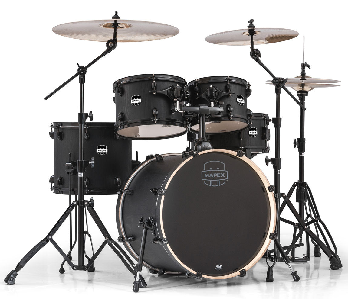 MA504SFBZW-PK Mapex Mars Fusion Drum Kit in Nightwood