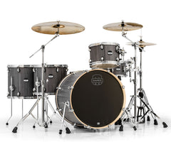 Mapex Smokewood Drum Kit with Chrome Fittings and Hardware