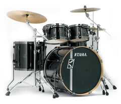 Tama Superstar Hyper-Drive 5-Piece in Brushed Charcoal Black