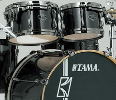 Tama Brushed Charcoal Black Drum Kit