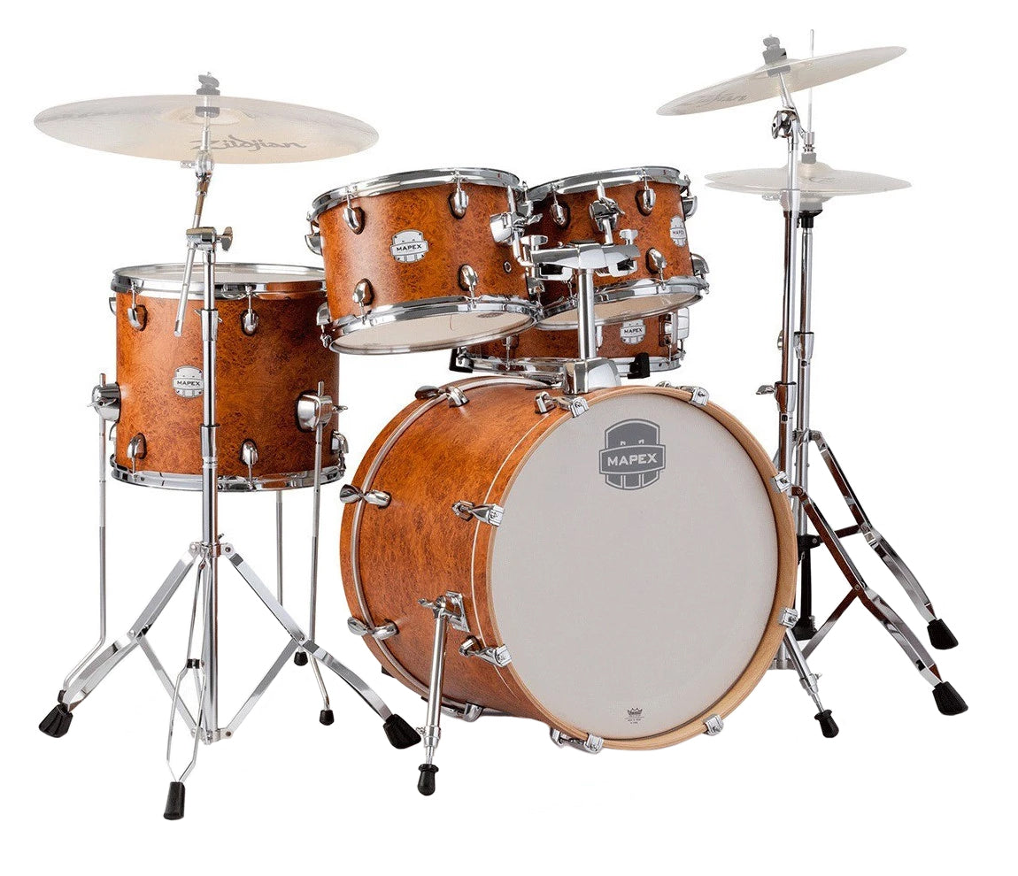 Mapex Storm 5-Piece Fusion Camphor Wood Grain Drum Kit