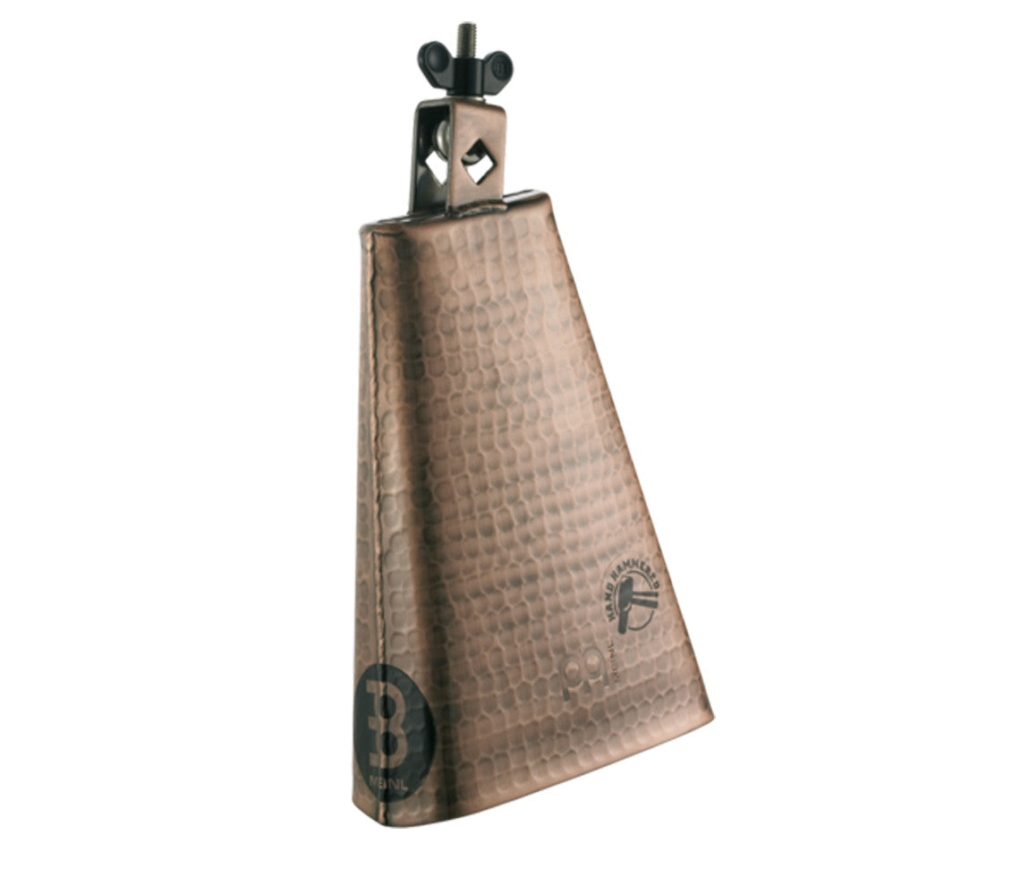 Meinl Hammered 8 inch Big Mouth Cowbell in Hand Brushed Copper Finish