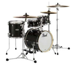 Pearl Midtown 4-Piece Compact Shell Pack in Black Gold Sparkle