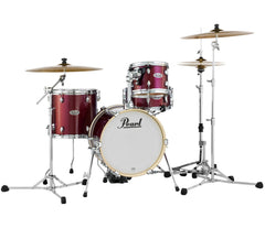 Pearl Midtown 4-Piece Compact Shell Pack in Black Cherry Glitter