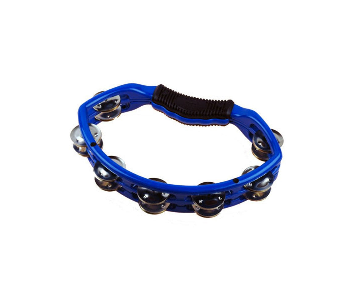 Natal Spirit Tambourine in Blue, Vendor: Natal, Type: Tambourines & Jingles, Finish: Blue, NS102TB