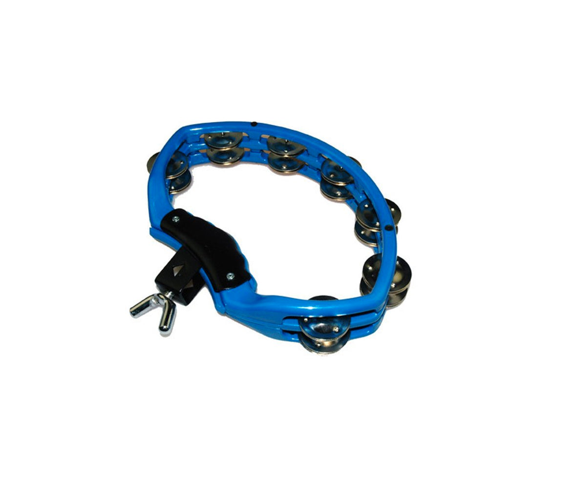 Natal Spirit Drumset Mount Tambourine in Blue, Vendor: Natal, Type: Tambourines & Jingles, Finish: Blue, NSDB