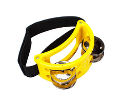 Natal Foot Tambourine in Yellow