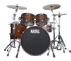 Natal 'The Originals' US Fusion X Walnut Shell 4 Piece in Natural Walnut