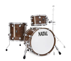 Natal 'The Originals' Traditional Jazz Walnut Shell 3 Piece in Natural Walnut