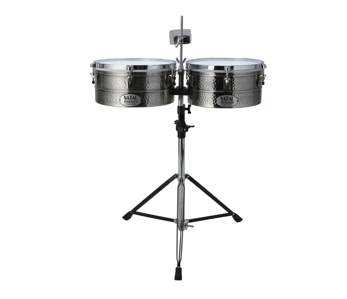 Natal Black Nickel Timbales  13